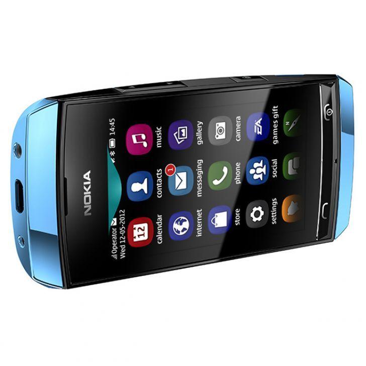 Harga dan Spesifikasi Nokia Asha 306 Biru