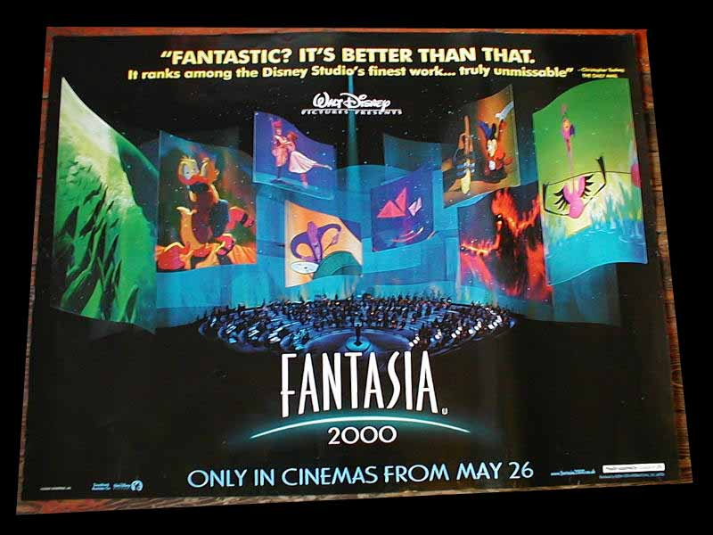 Film Poster Fantasia 2000 1999 disneyjuniorblog.blogspot.com