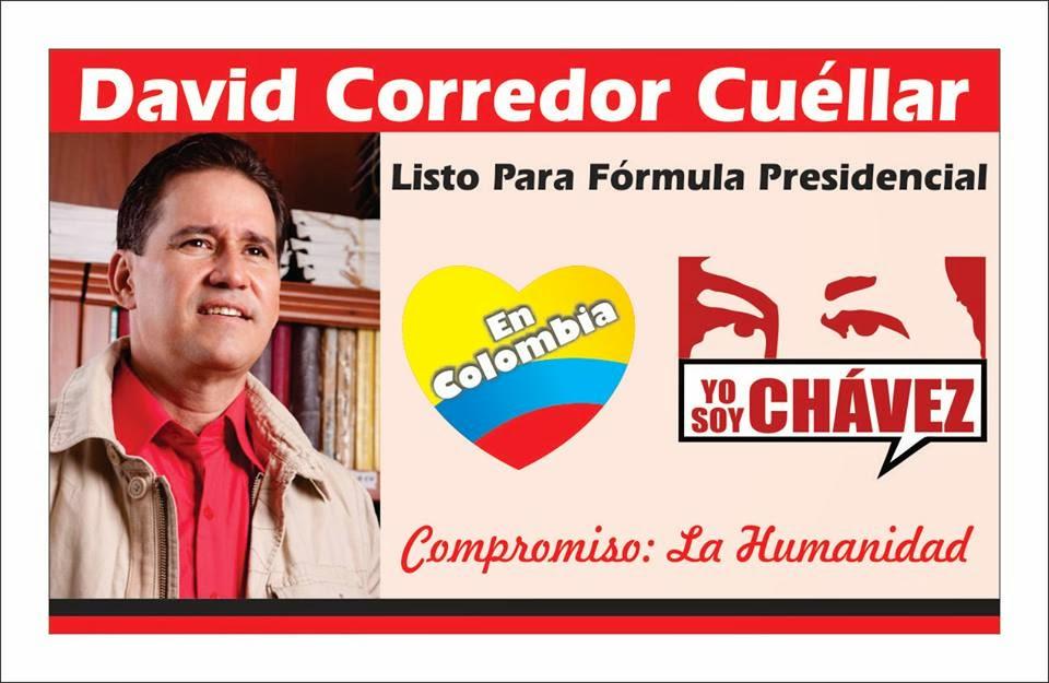 David Corredor Cuéllar Preparado para ser fórmula Presidencial