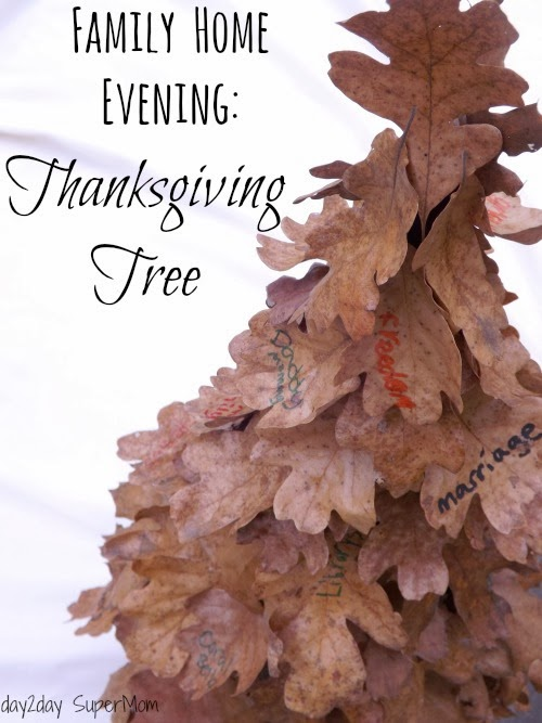 Thanksgiving Tree ~ DIY Friday