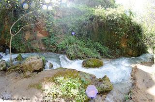 Rio Vadillo a su paso por Las Chorreras