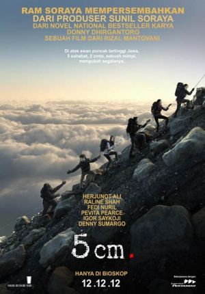 5 CM Movie 2012