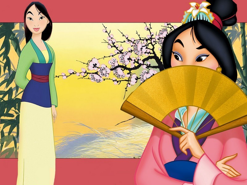 free disney princess mulan desktop wallpaper
