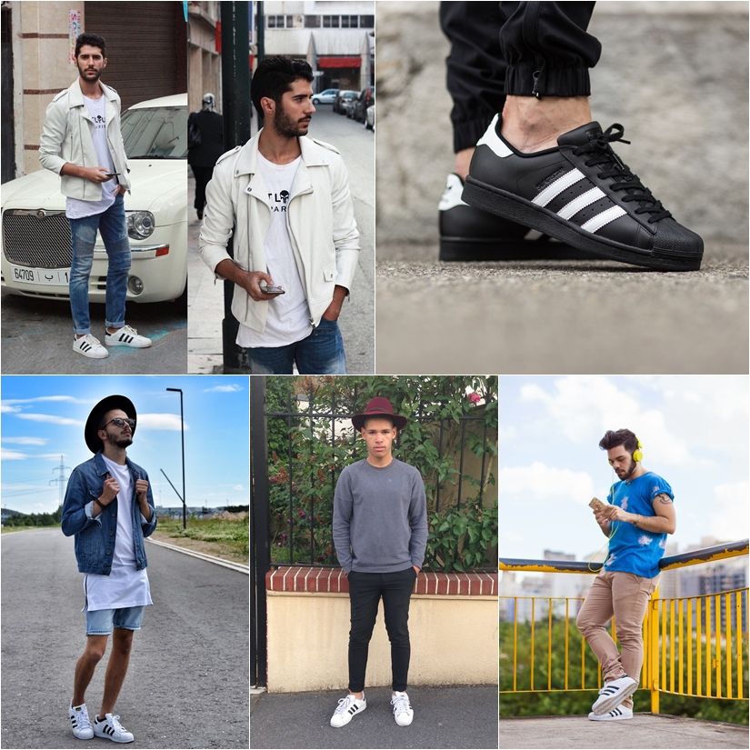 adidas superstar look