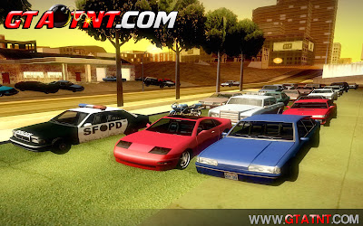 GTA SA - Estacionamentos para 256 carros (Car Save)