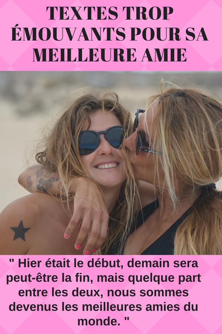 Top Les plus beaux textes pour sa meilleure amie (2018) | SMS d'amour  CX61