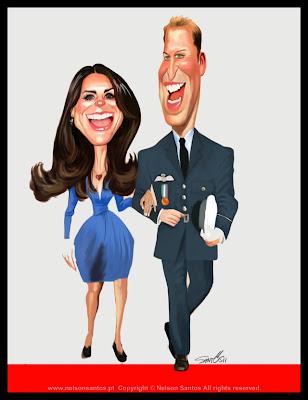 ilustração royal wedding