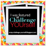 I was featured at Challenge YOUrself.