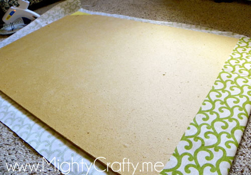 Bulletin Board Rescue - www.MightyCrafty.me
