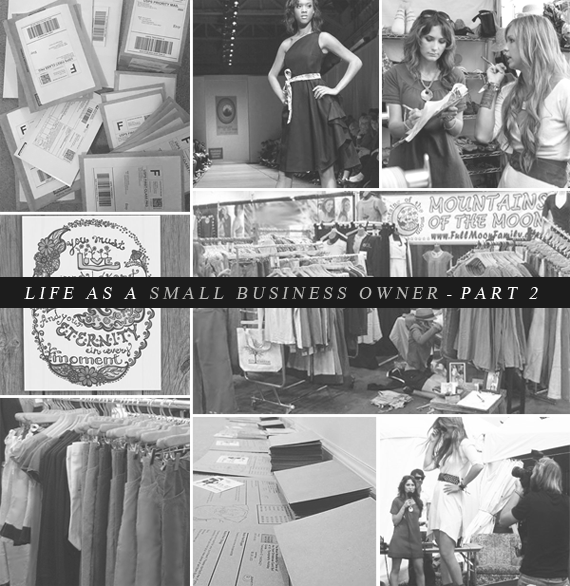 Life As A Small Business Owner, Part 2 // Bubby and Bean