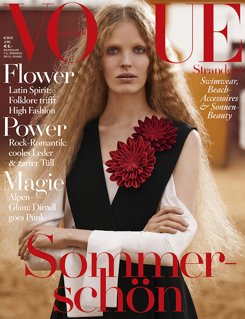 Model @ Alisa Ahmann for Vogue Germany, June 2015