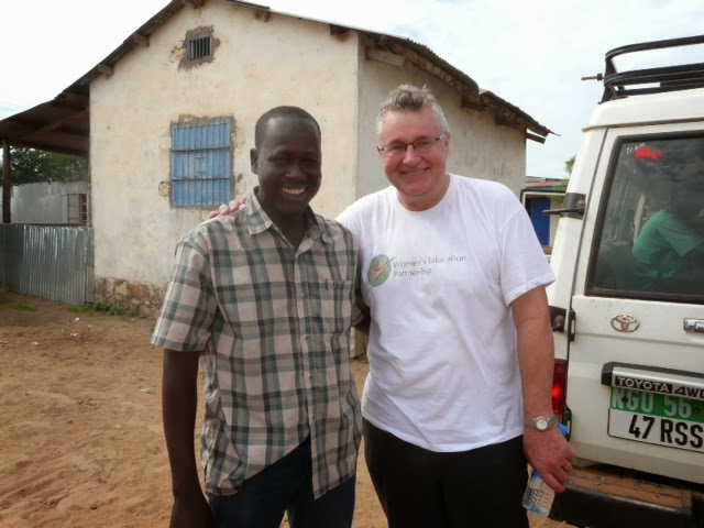 Peter our director with Eliaou