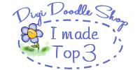 Tweede plaats Digi Doodle Shop's Best