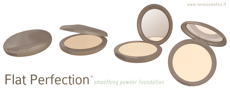 Neve Cosmetics - Flat Perfection smoothing powder foundation