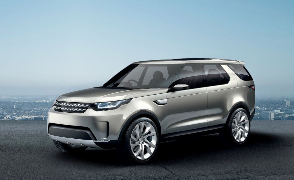 2014 Land Rover Discovery Vision Concept Wallpaper