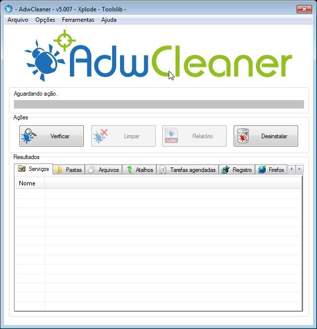 AdwCleaner v5.007 elimina Adware/barra de ferramentas/PUP/hijacker