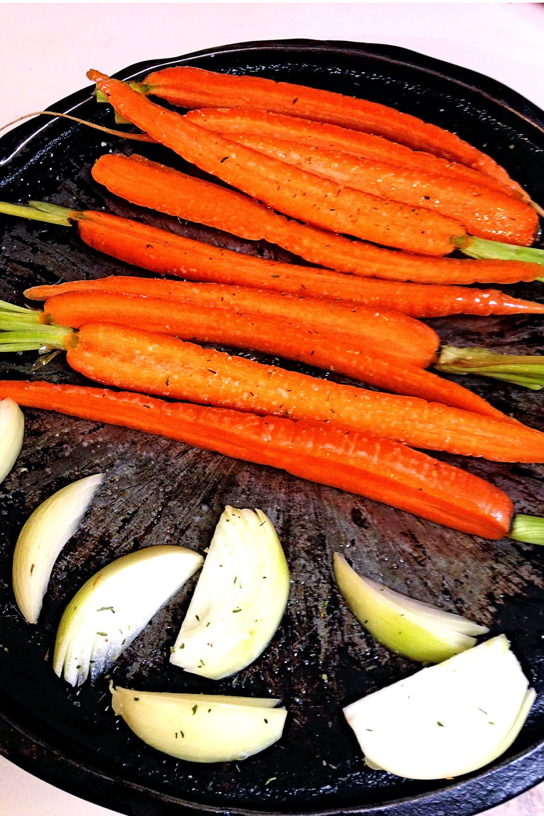 Paprika-Spiced Caramelized Carrots