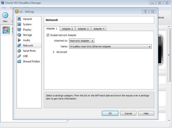 Anda perlu mensetting dulu lewat Setting -> Network -> Enable