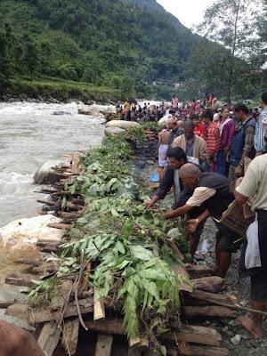 lumle, bhadaure, dhikurepokhari landslide