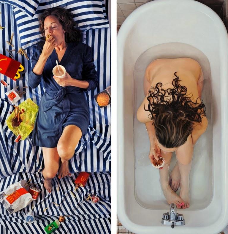 mujeres-pinturas-hiperrealistas