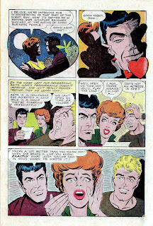 Just Married v1 #79 - Steve Ditko charlton romance 1970s bronze age comic book page art