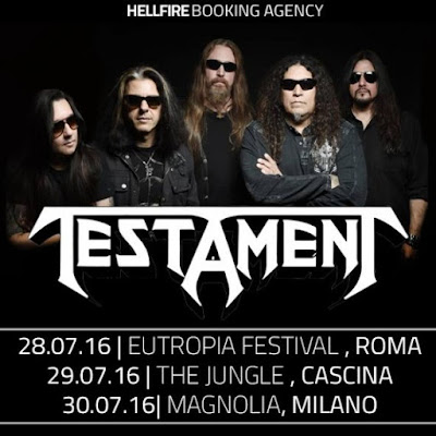 testament - italia - 2016