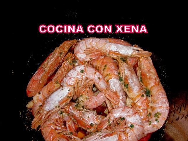 Cocina con xena gamb n con ajito y perejil etc en gm e for Cocina con xena olla gm d