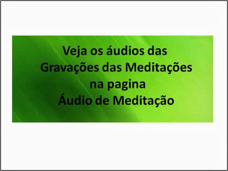 Áudio das Meditações