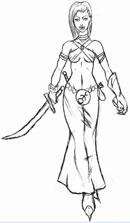 Slaaneshi themed Cult of the Possessed Slaanesh_Magister_concept