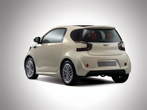The Aston Martin Cygnet Small Car