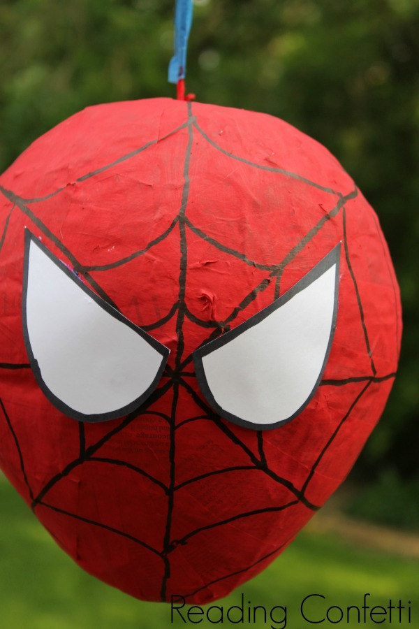 Spider web cupcakes favor bags and more ideas for a diy spiderman