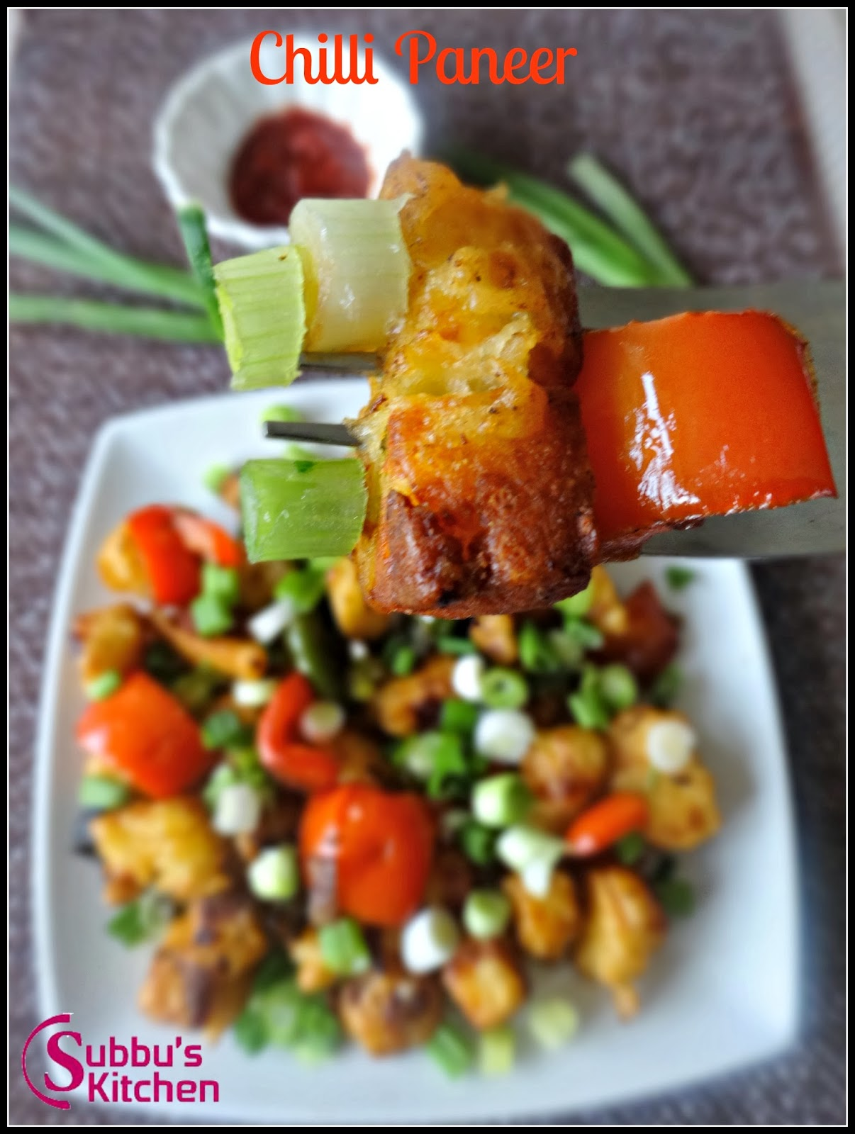 Chilli paneer subbus kitchen forumfinder Images