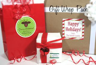 LabelDaddy Gift Wrap Pack