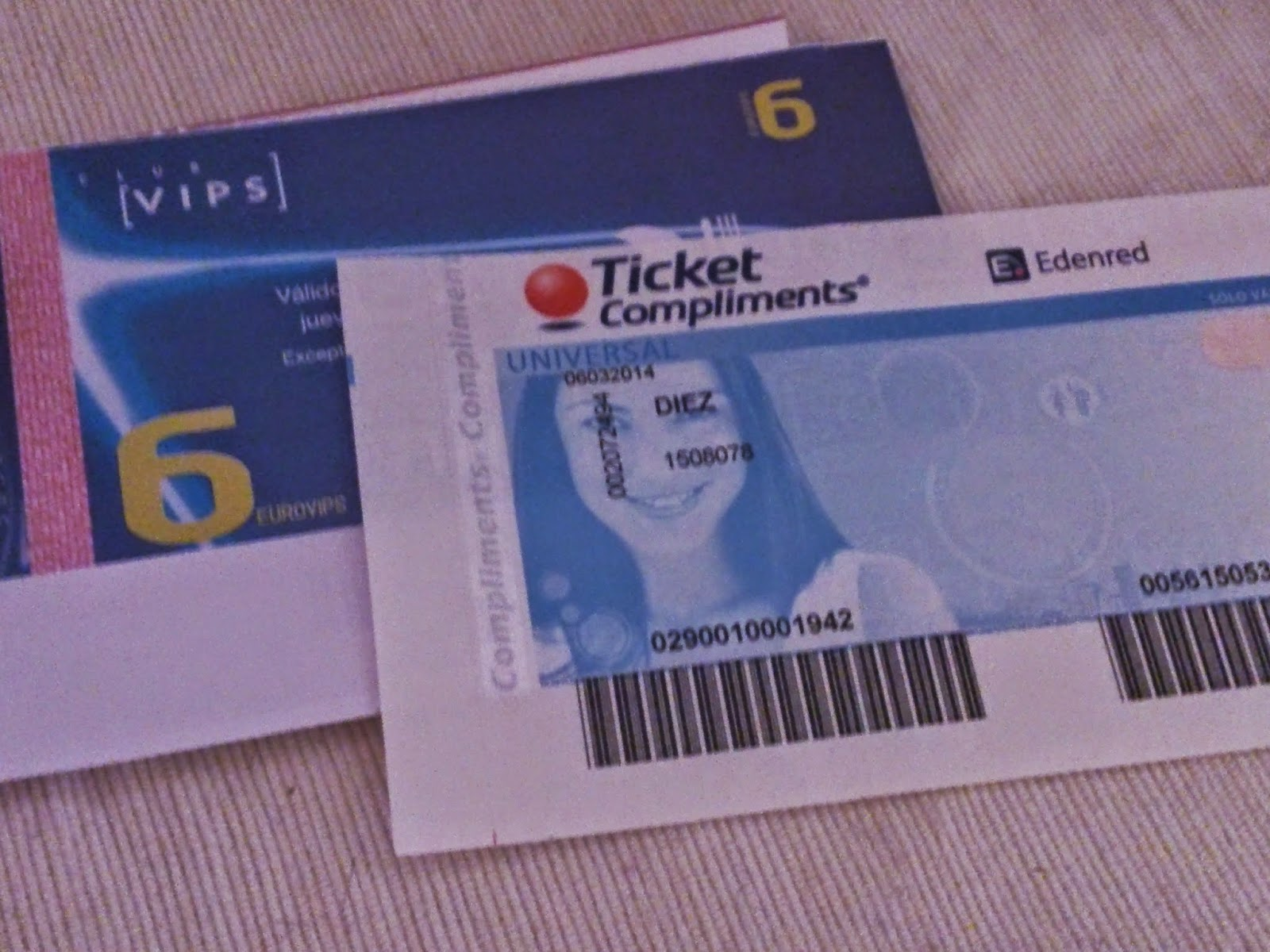 ticket compliments