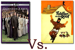 funny Downton Abbey is Fiddler on the Roof
