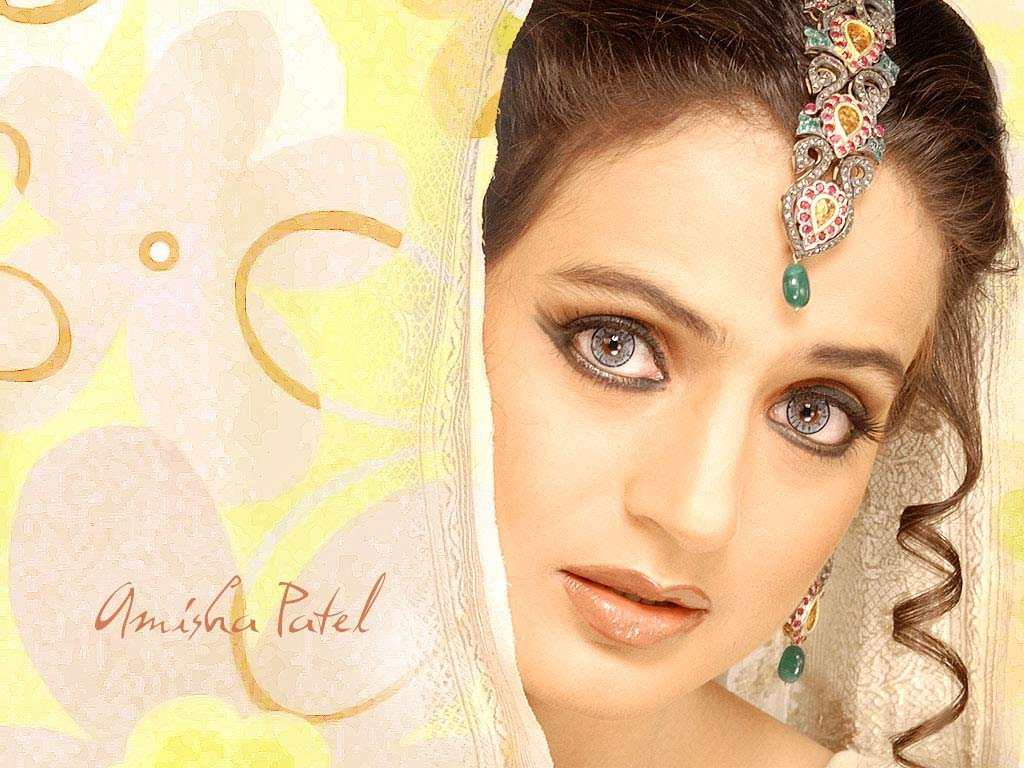 Amisha patel Wallpaper 7 With 1024 x 768 Resolution ( 159kB )