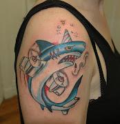 3D Shark Tattoo (shark tattoo tattoosphotogallery)