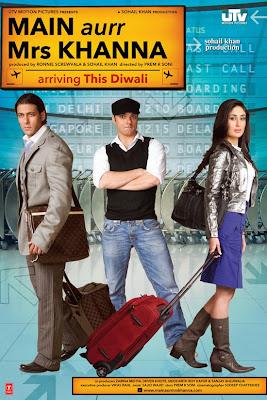 Main Aurr Mrs Khanna 2009 Hindi DVDRip 300mb