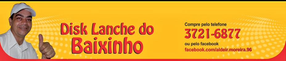 DISK LANCHE DO BAIXINHO