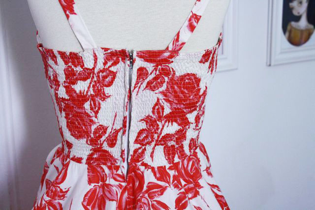 Gertie's New Blog For Better Sewing Making A ShirredBack Dress Interesting Shirring On A Brother Sewing Machine