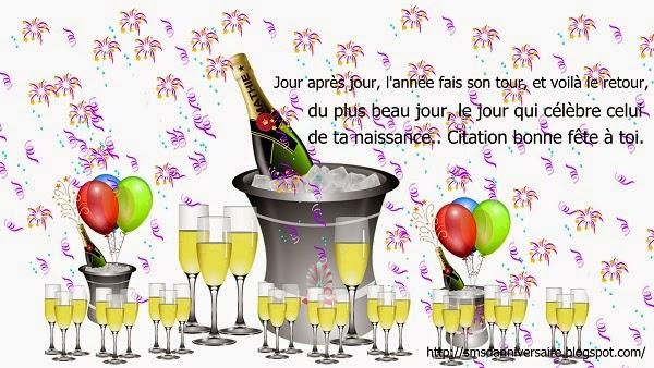 chanson anniversaire en francais