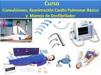 Curso de Convulsiones y Reanimación Cardio Pulmonar Básica