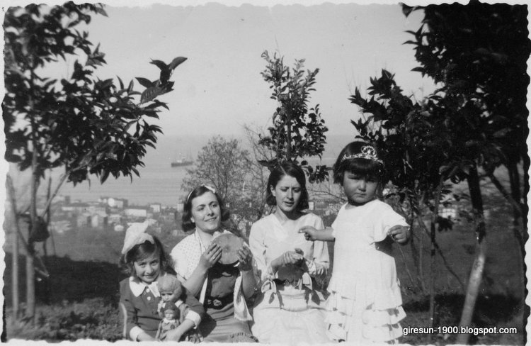 Picnic at Giresun Black Sea c. 1930