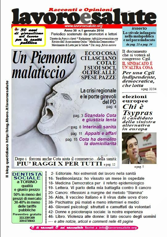 Periodico gennaio 2014