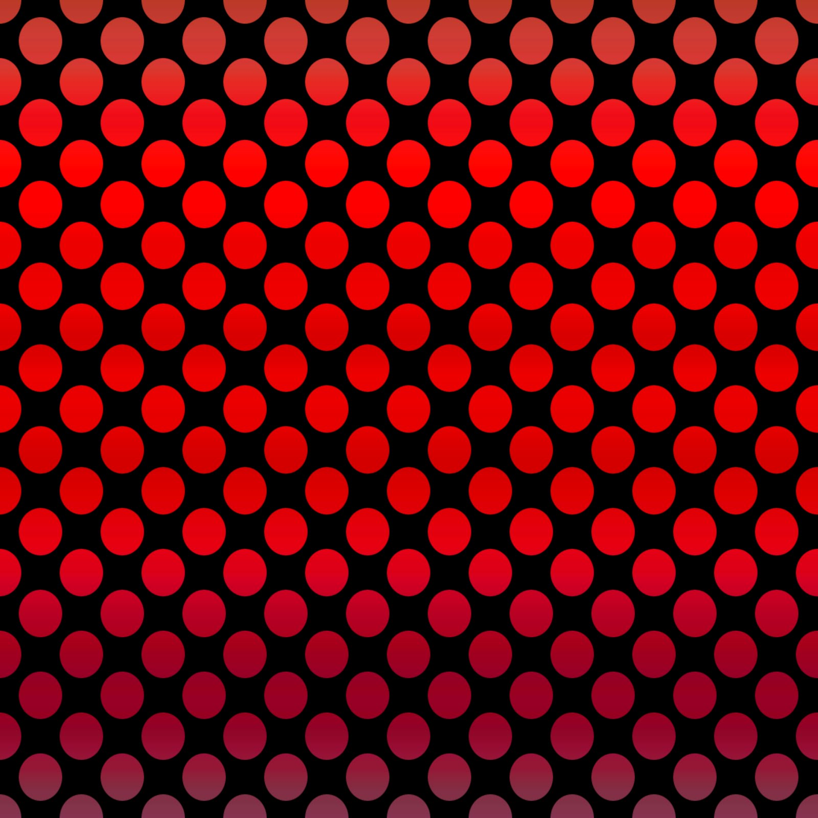 Red Dot Black Background Red And Black Polka Dots