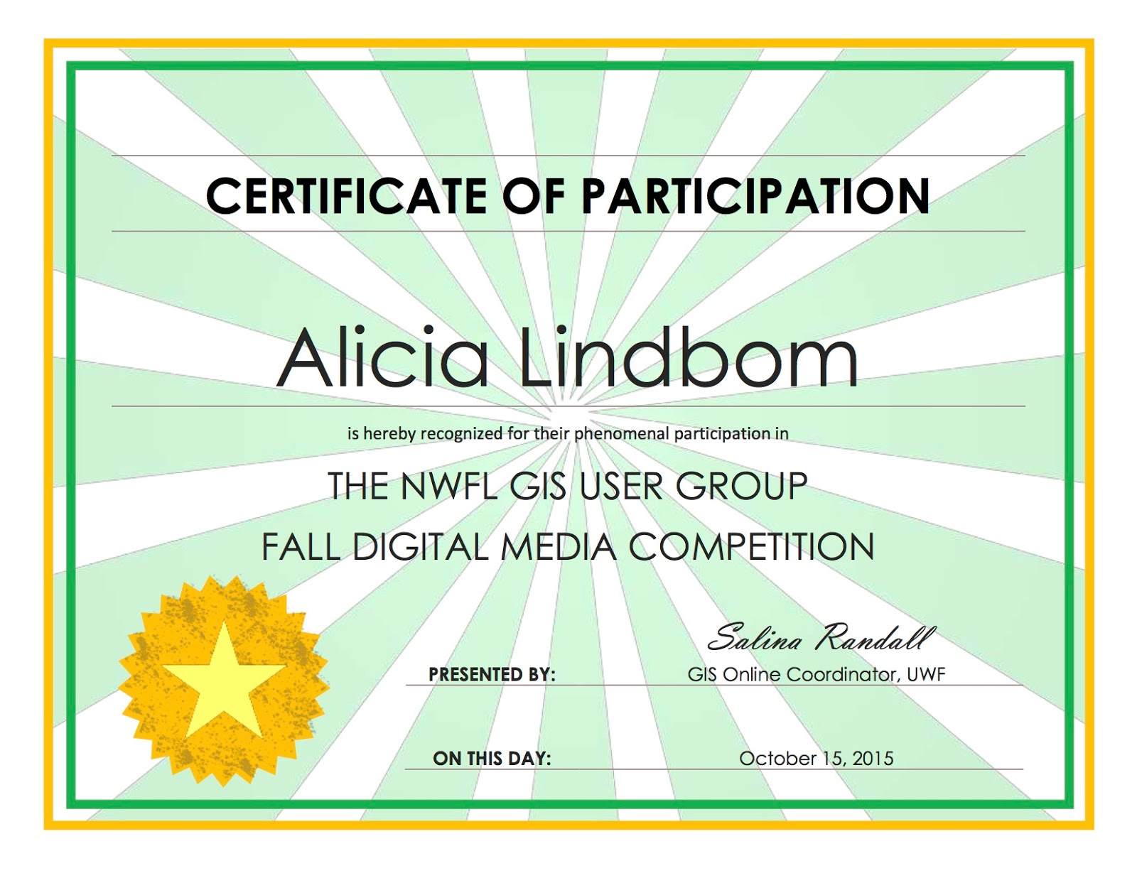 making a certificate online