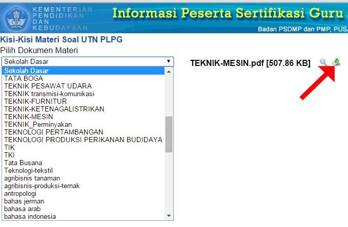 Download Kisi Kisi Materi Soal Ujian Tulis Nasional Utn Plpg Terbaru 2015 Website