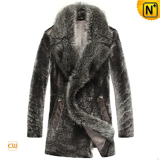 mens fur coat