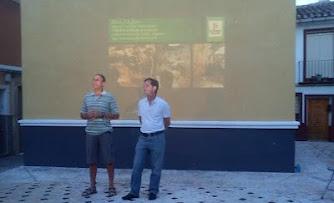En Bullas, sobre las Fuentes del río Mula 5-06-2012