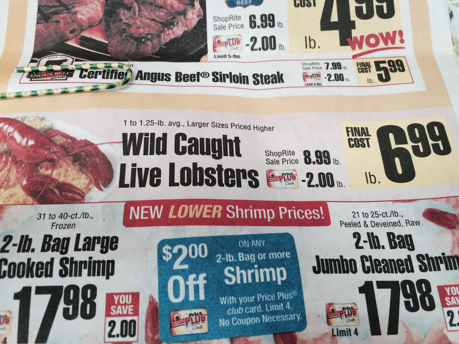 Shoprite can can sale 2015 - Shoprite In Englewood Pulls A Fast One During Sale On Live Lobsters
